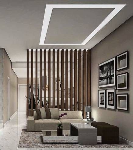 Modern Living Room Partition Ideas25