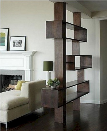 Modern Living Room Partition Ideas39