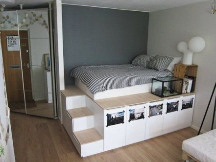 Amazing Bed For Small Space Ideas16