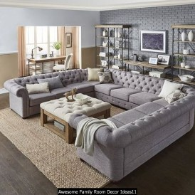 Awesome Family Room Decor Ideas11