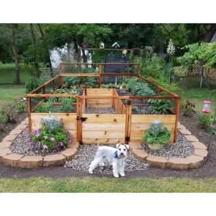Lovely Backyard Garden Design Ideas16