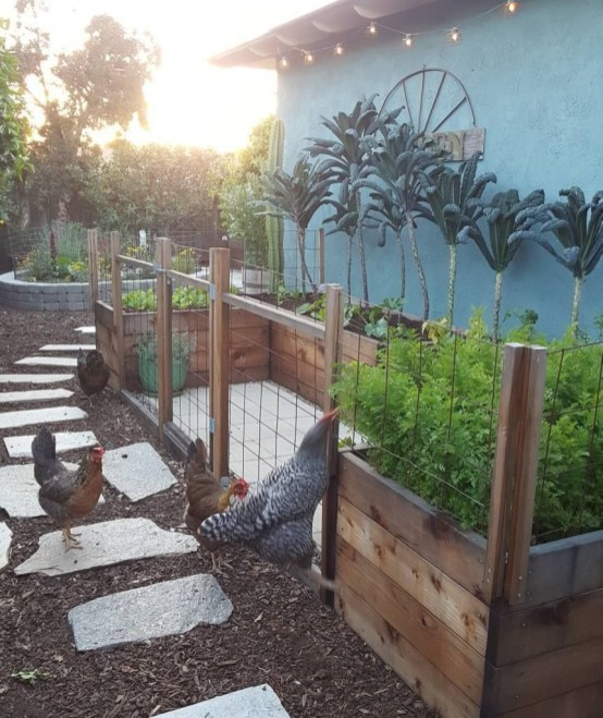 Lovely Backyard Garden Design Ideas20