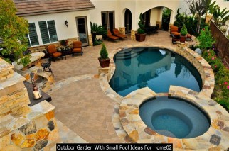 Outdoor Garden With Small Pool Ideas For Home02