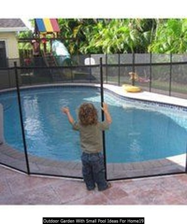 Outdoor Garden With Small Pool Ideas For Home19
