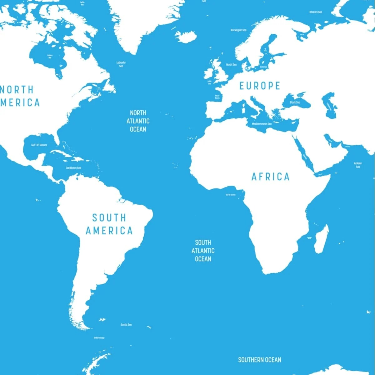 Atlantic Ocean Map And 10 Beautiful Islands In The Atlantic Ocean Best Hotels Home