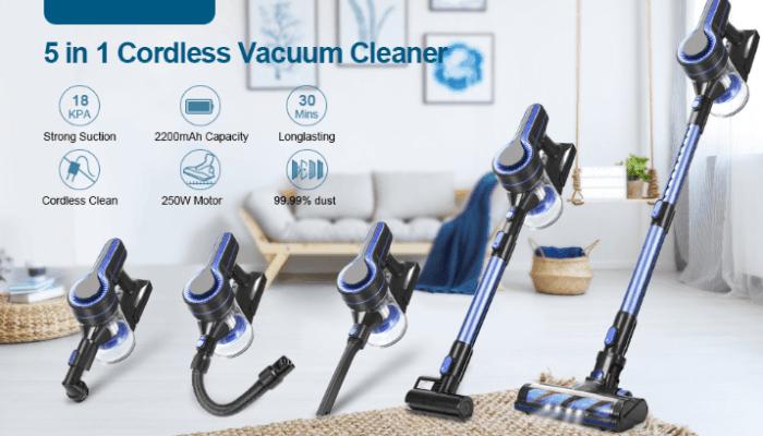 APOSEN Cordless Vacuum Cleaner Upgraded Brushless