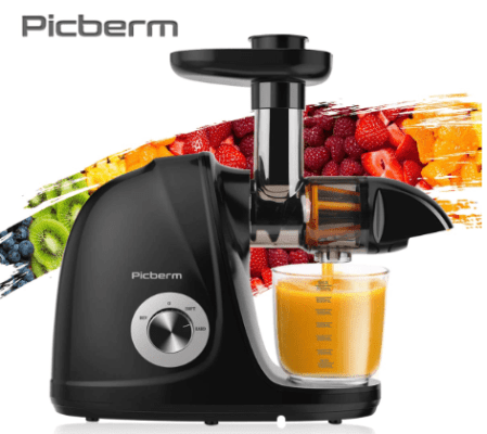 Picberm Slow Masticating Juicer