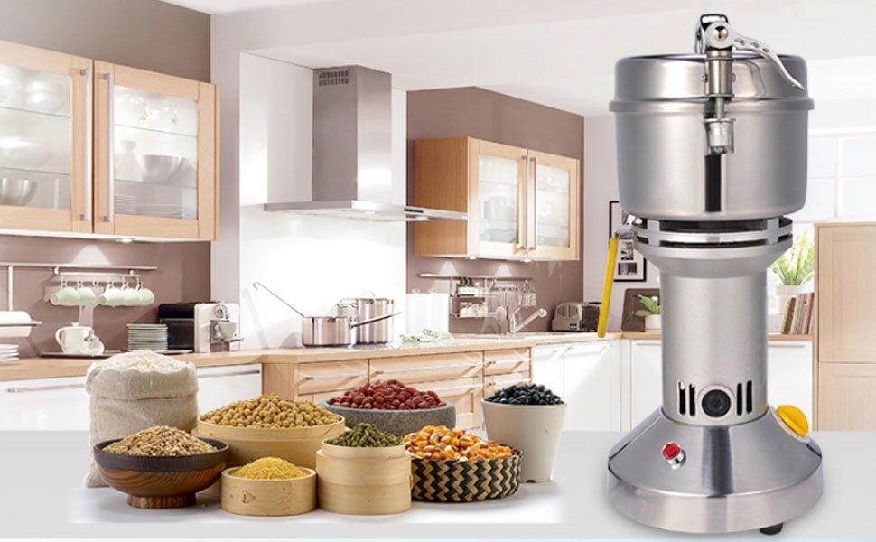 500g Electric Grain Grinder Mill Cereal Spice Grinder