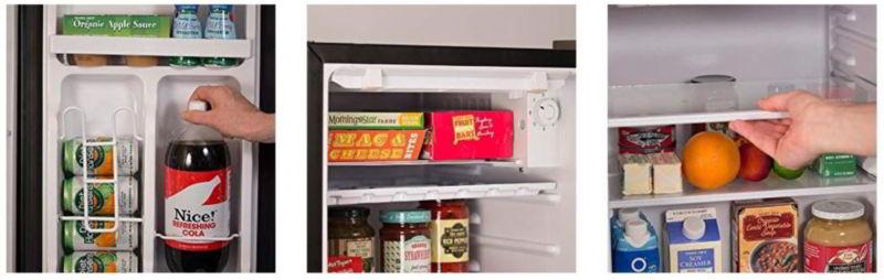 BLACK+DECKER BCRK25B Compact Refrigerator