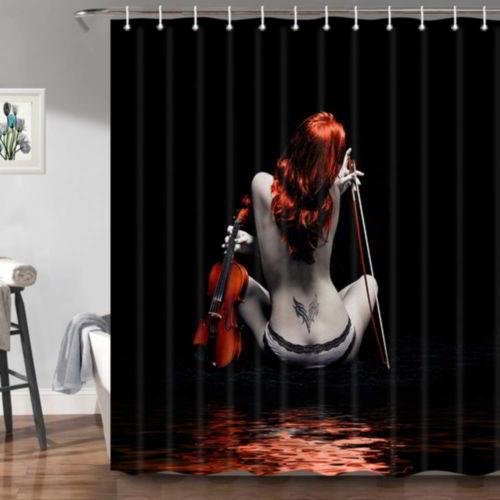 Jawo Fashion Sexy Woman Shower Curtains