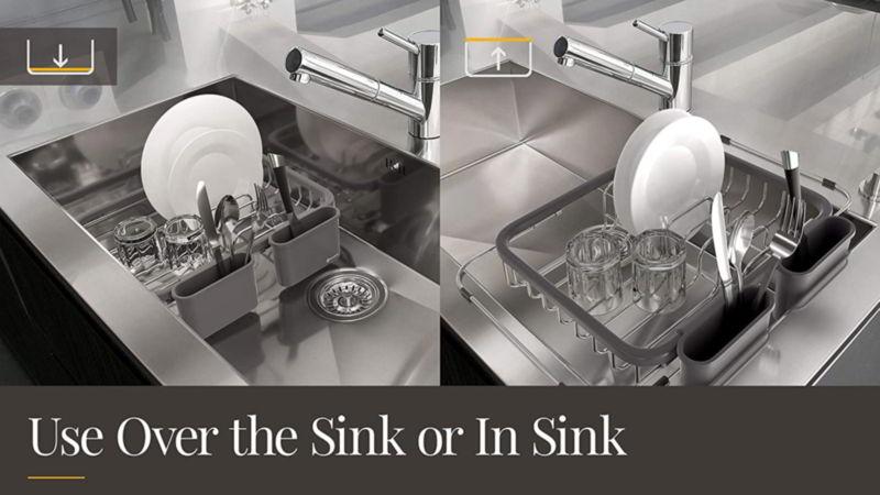 Shanik Expandable Dish Rack