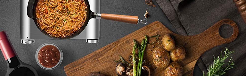 Techwood Hot Plate Electric Stove Countertop