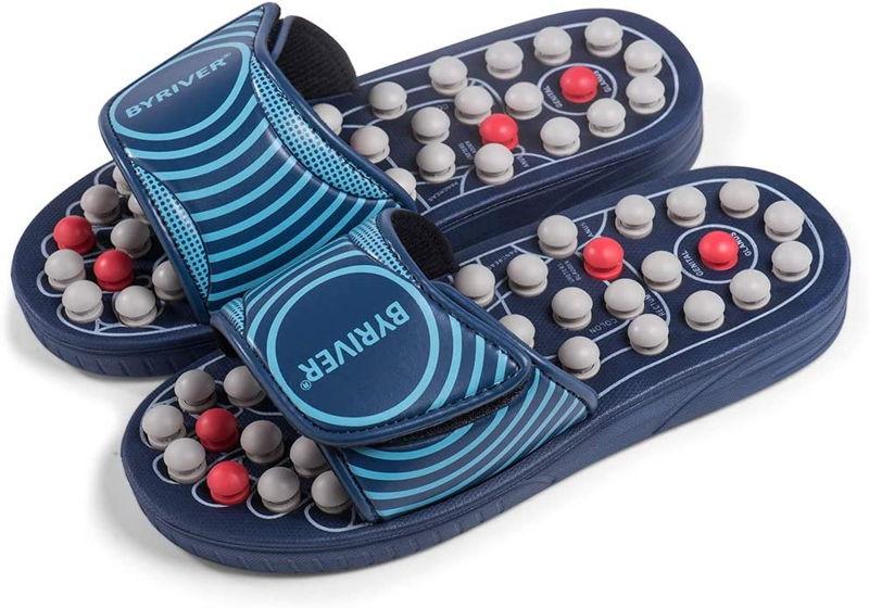 BYRIVER Acupressure Massage Slippers Shoes 2