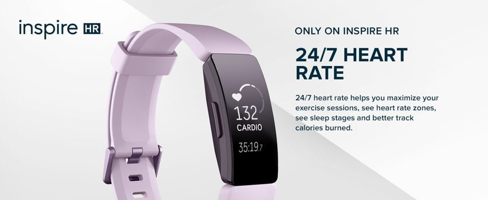 Fitbit Inspire HR Heart Rate and Fitness Tracker 1