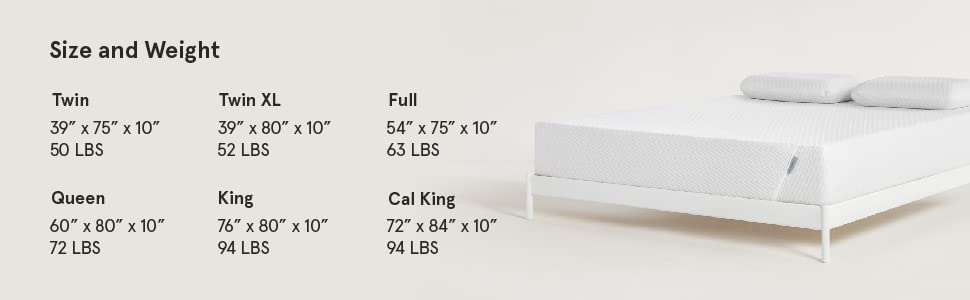 TUFT & NEEDLE Adaptive Foam King Size Mattress