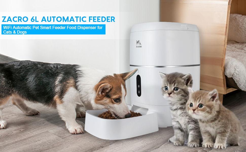 Zacro 6L Automatic Pet Smart Feeder