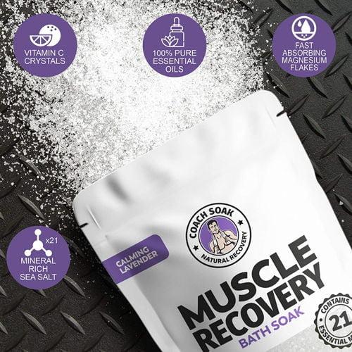 Coach Soak Muscle Recovery Bath Soak 4