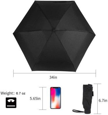 GAOYAING Compact Mini Travel Umbrella