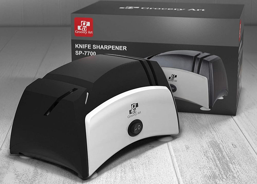 Grocery Art Knife Sharpener Electric 3 in 1 Tool 3