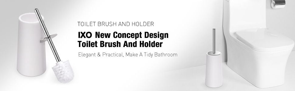 IXO Toilet Brush and Holder