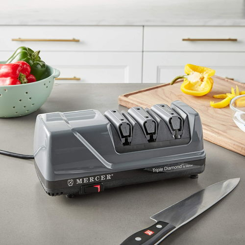 Mercer Culinary Triple Diamond 3 Stage Electric Sharpener