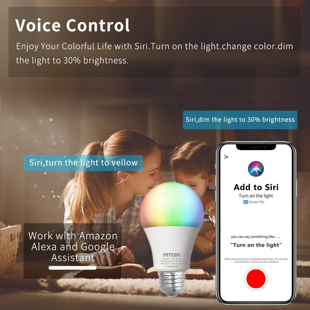 Peteme Best Smart Light Bulb