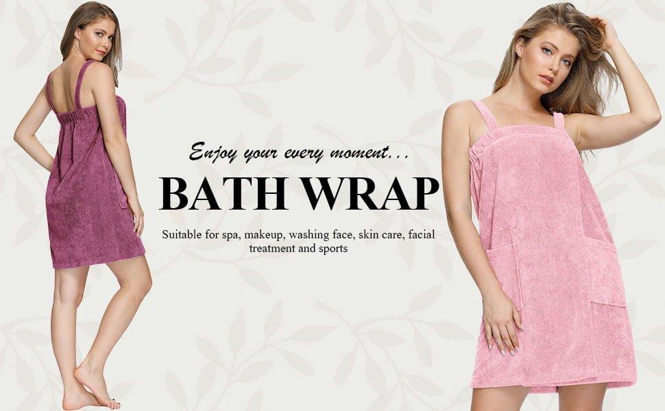 Zexxxy Women Bath Wrap Towel 1