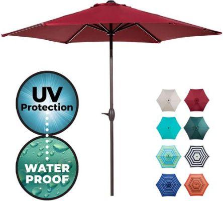 abba 9 ft patio umbrella