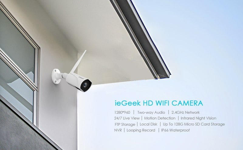 ieGeek Smart Home WiFi Camera