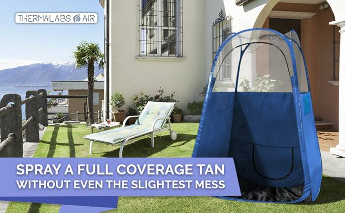 thermalabs spray tan machines tent booth