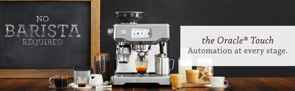 Breville oracle touch home espresso machine