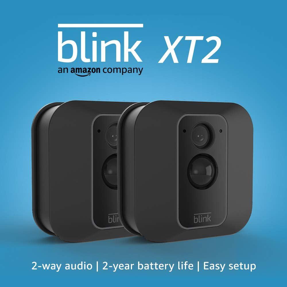 blink xt2 smart home wifi camera