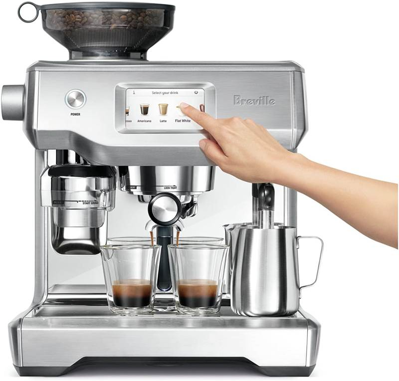 breville oracle touch features