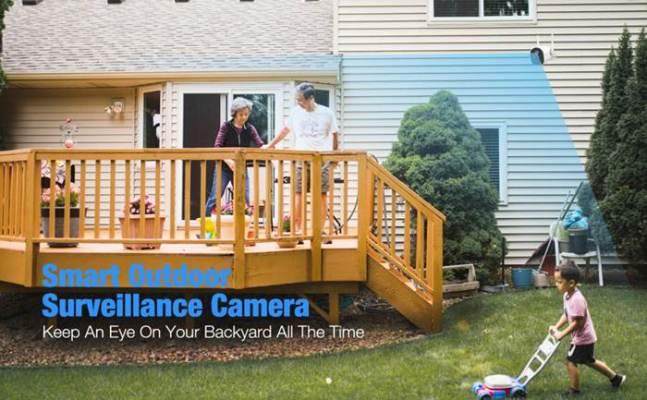 conico smart home wifi camera
