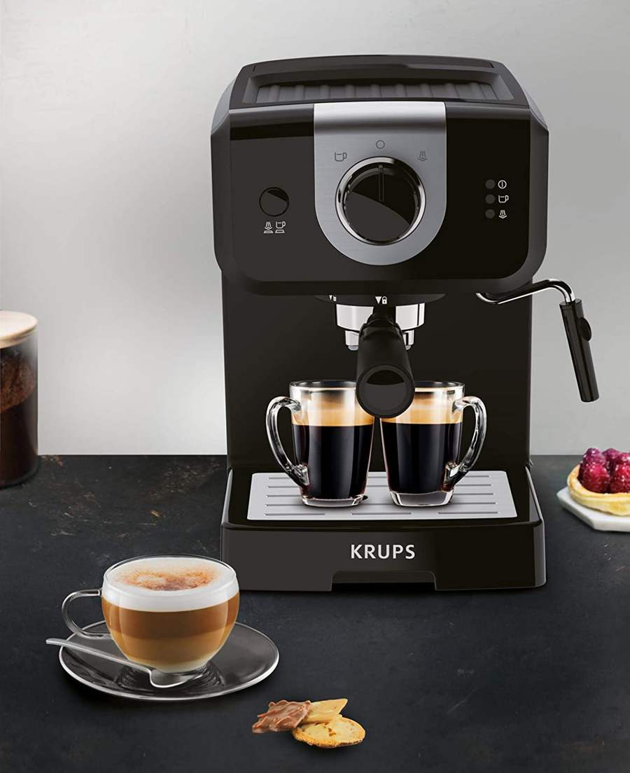 krups home espresso machine