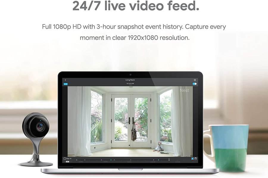nest smart home wifi camera