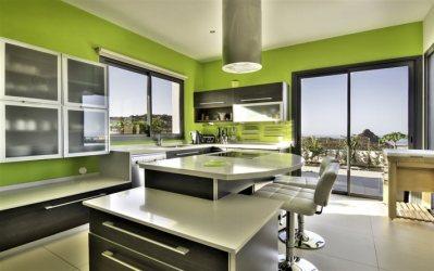kitchen modern walls interior wallpapers desktop besthqwallpapers