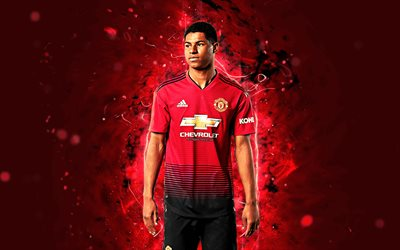 Free 3d Wallpapers For Pc Downloads Download Wallpapers Marcus Rashford 4k Season 2018 2019