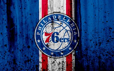 Free Download Beautiful Wallpapers With Quotes Download Wallpapers 4k Philadelphia 76ers Grunge Nba