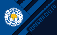 Download wallpapers Leicester City FC, logo, 4k, material ...