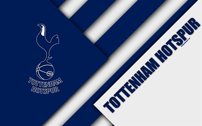 Tottenham Iphone Wallpaper Download Wallpapers Tottenham Hotspur Fc Logo 4k