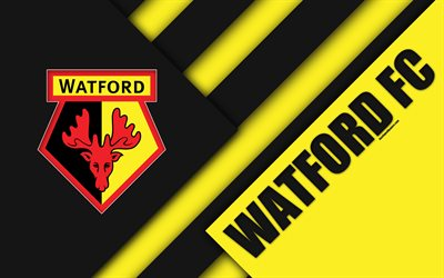 Beautiful Desktop Wallpapers With Quotes Download Wallpapers Watford Fc Logo 4k Material Design
