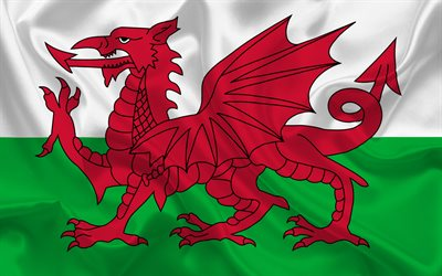 3d Hq Wallpaper Download Download Wallpapers Wales Flag Wales Europe Flag Of