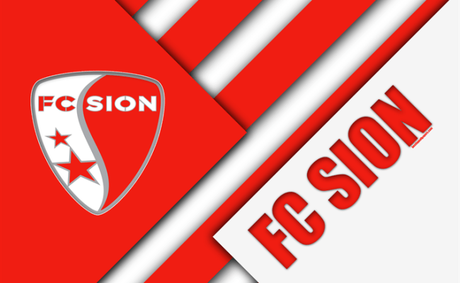 Download Wallpapers Fc Sion 4k Swiss Football Club Red