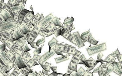 Falling Money 3d Wallpaper Descargar Fondos De Pantalla De D 243 Lares Volando Dinero