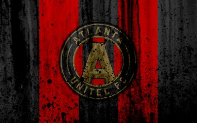 High Res Anime Wallpaper Download Wallpapers 4k Fc Atlanta United Grunge Mls