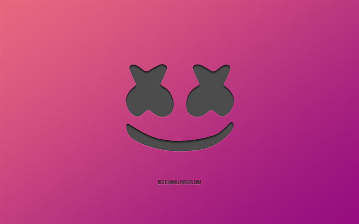 download wallpapers marshmello logo