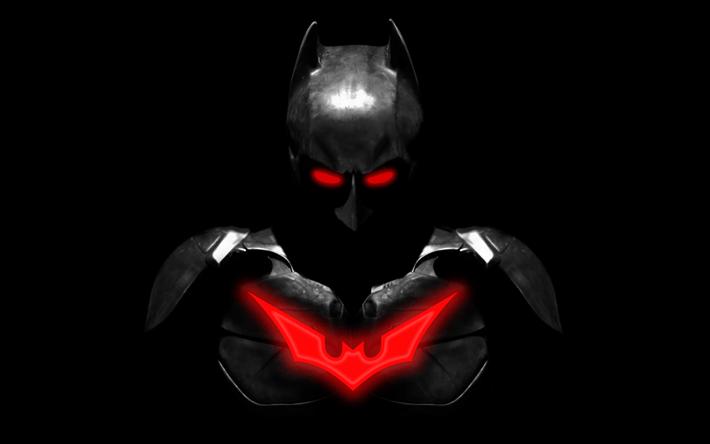 Download Wallpapers 4k, Batman, Superheroes, Minimal