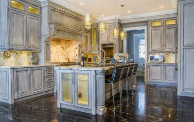 kitchen classic interior italian marble floor furniture modern gray wallpapers desktop
