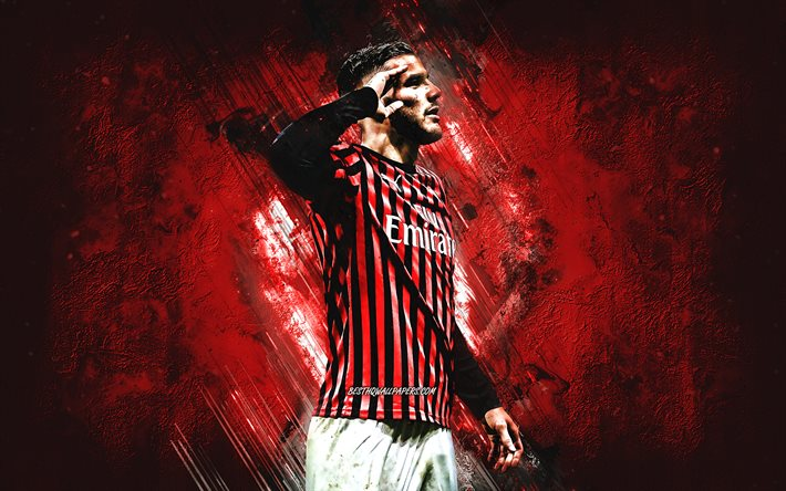 19/20 · ac milan 75.png. Download wallpapers Theo Hernandez, AC Milan, portrait ...